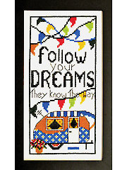 Follow Your Dreams Cross Stitch Kit