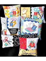 Six Pincushions Cross Stitch Kit