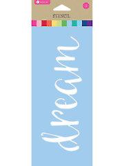 "Dream Stencil 3.5"" x 8"""