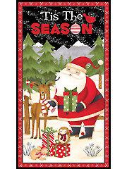 """Santa & Friends Panel - 24"""" x 43"""""""