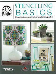 Stenciling Basics Easy Techniques for Home Decor & Gifts!