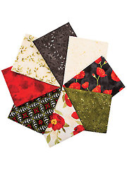 Poppy Celebration Fat Quarters - 8/pkg.