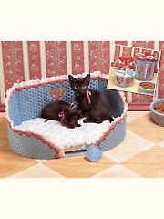 Kitty Love Plastic Canvas Pattern