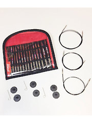 Deborah Norville Collection Interchangeable Needle Set U.S. Size 4-11