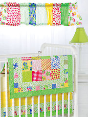 Exclusively Annie's Bright & Charming Nursery Set Pattern