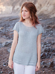 ANNIE'S SIGNATURE DESIGNS: Chamisal Tee Knit Pattern