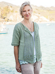 ANNIE'S SIGNATURE DESIGNS: Shorebird Cardi Knit Pattern