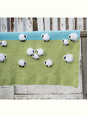 Counting Sheep Blanket Crochet Pattern