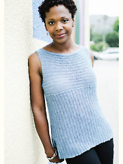 Rialto Ribbed Top Crochet Pattern