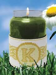 Celtic Monogram Candle Corsets Kit