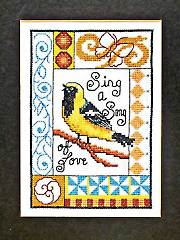 Kathy's Bird Cross Stitch Kit