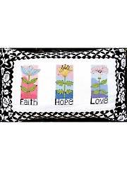 Faith Hope Love Pillow Kit