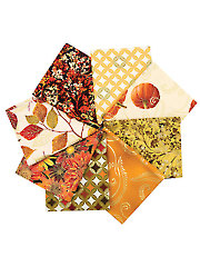 Autumn Splendor Fat Quarters - 8/pkg.