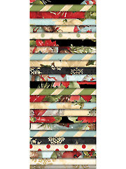 Woodland Holiday Jelly Roll - 24/pkg.