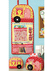 Vintage Trailer Sewing Room Pattern Set