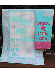 Dream Big Crib Quilt Pattern