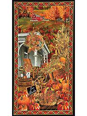 """Fall Scenic Panel - 24"""" x 44"""""""