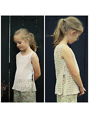 Side Tie Tank Crochet Pattern