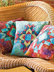 County Fair Trio Pillow Quilt Pattern