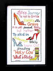 Life's Journey Cross Stitch  Kit