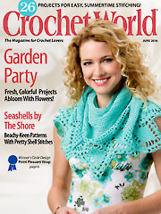 Crochet World June 2016