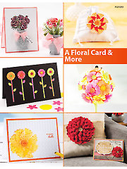 A Floral Card & More