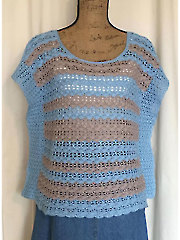 Shell Fancy Top Crochet Pattern