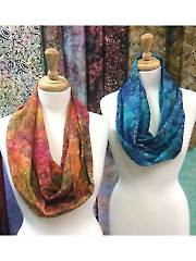 Mystery Fabric Infinity Scarf Kit - Special Buy!