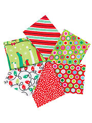 Christmas Fat Quarters Mystery Assortment - 6/pkg.