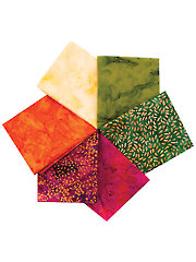 Batik Fat Quarters Mystery Assortment -�6/pkg.