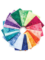 Stonehenge Gradations Brights Flannel Fat Quarters - 18/pkg