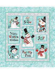 "Frosty Fun Panel - 24"" x 22"""