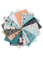 Dog Lover Fat Quarters - 15/pkg.