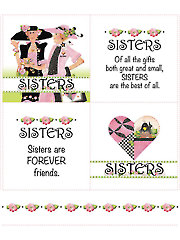 "Sister Squares Panel - 10"" x 12"""
