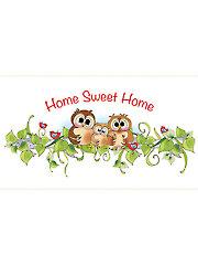 "Home Sweet Home Panel - 6"" x 12"""