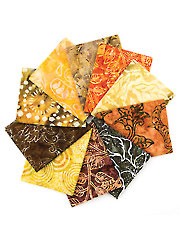Everglade Bali Fat Quarters - 10/pkg.
