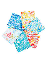 Forever Love Cool Tones Fat Quarters - 6/pkg.