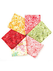 Forever Love Warm Tones Fat Quarters - 6/pkg.