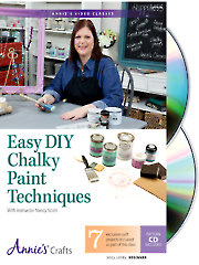 Easy DIY Chalky Paint Techniques Class DVD