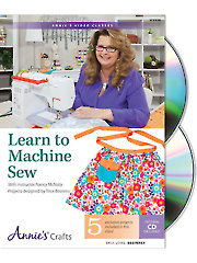 Learn to Machine Sew Class DVD