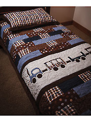 Good Nite Train Quilt Pattern