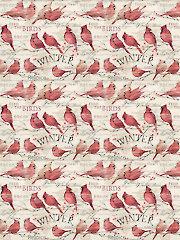 Cardinal Winter 1-Yard Cut