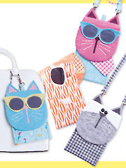 iPhone Catty's & Eyeglasses Case Sewing Pattern