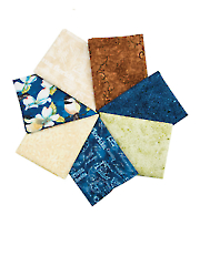 Feather Your Nest Fat Quarters - 7/pkg.