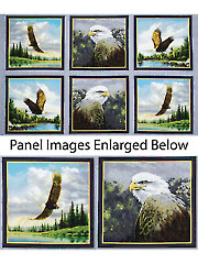"Majestic Eagles Digital Panel - 24"" x 40"""