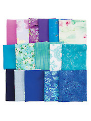Mystery Fabric Pack Blue/Purple - 2 lbs.