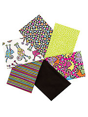 Bright & Fun Mystery Fat Quarters - 6/pkg.