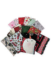 Mystery Fabric Pack Holiday - 2 lbs.