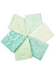 Soft Greens Mystery Fat Quarters - 6/pkg.