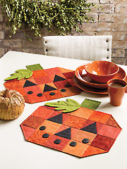 Exclusively Annie's Pumpkin Patch Place Mats